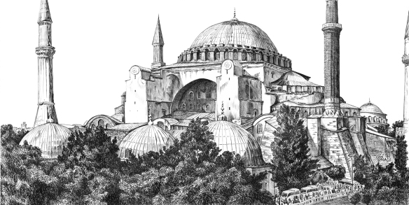 Hagia Sophia Agape ©2011 by Trici Venola.