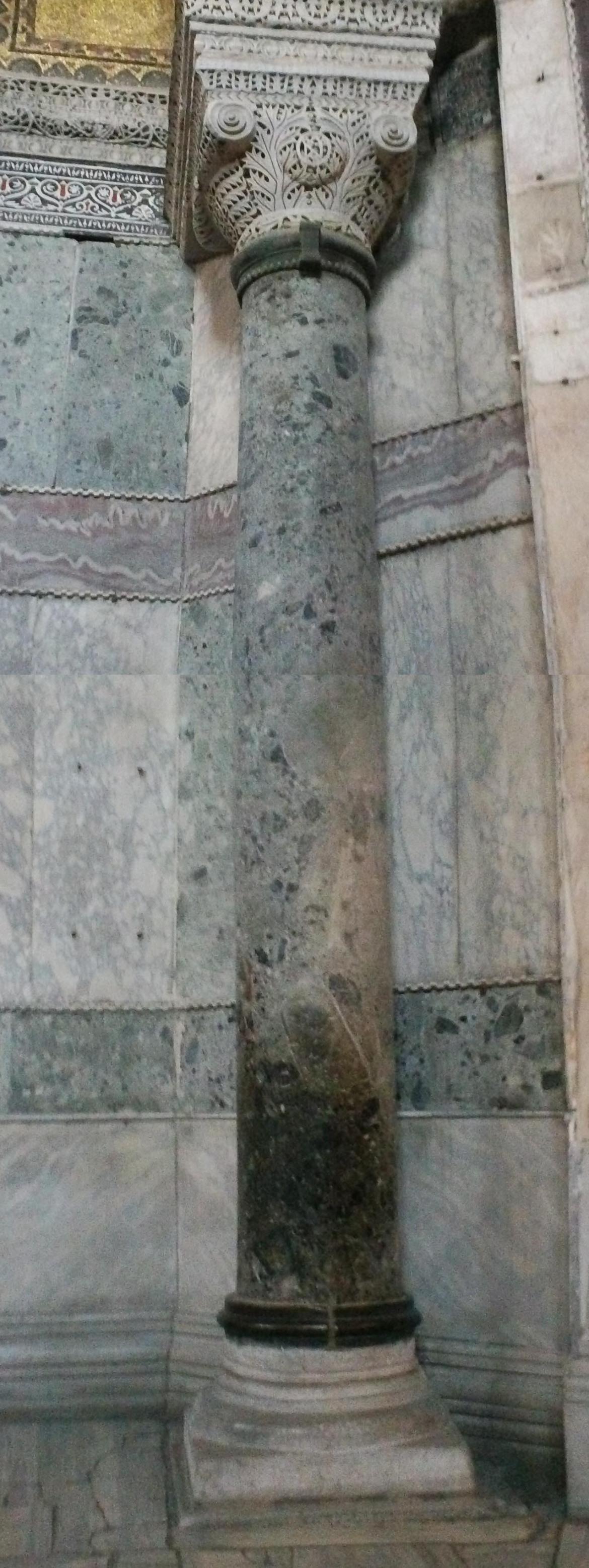 oiled pillar309