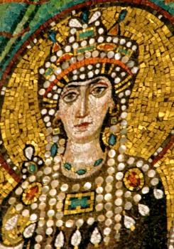 Theodora, Ravenna Mosaic