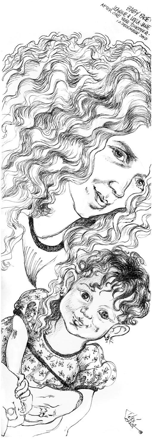 Baby Face ©2010 Trici Venola