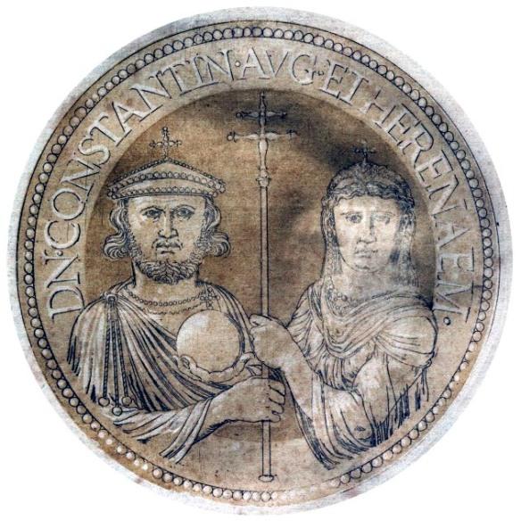 Byzantine Empress regnant Irene of Athens