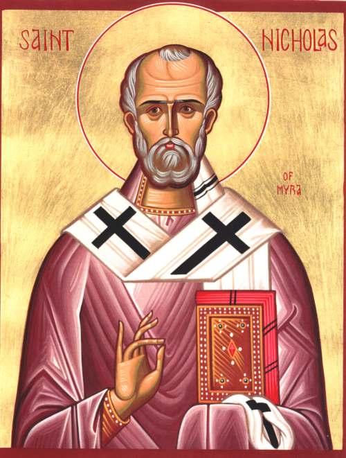 Russian Icon-St Nicholas of Myra