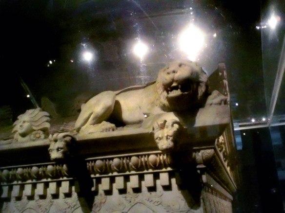 Alexander Sarcophagus Detail