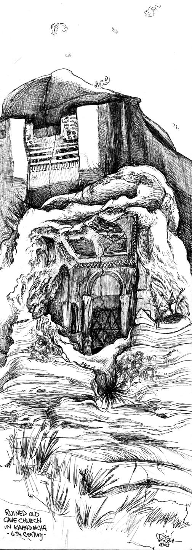 Cave Church Door