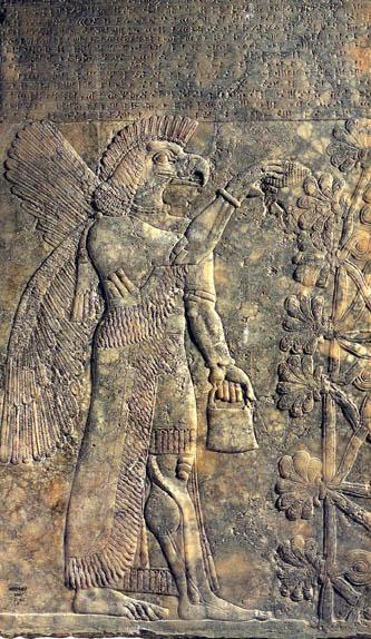 Nimrud Bird Djinn