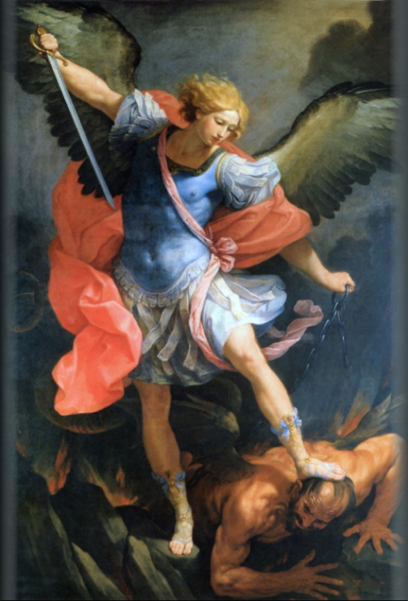 The Archangel Michael, by Guido Reni, 16th Century.