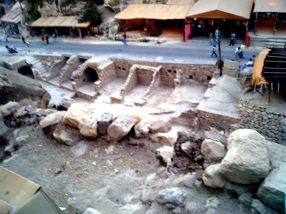 Excavated Street