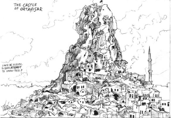 Castle Ortahisar