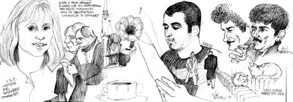 Erkan and Ali Sanci ©2000 Trici Venola