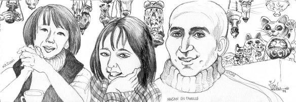 Hasan en Famille wCats