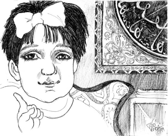Little Girl Selin ©1999 Trici Venola