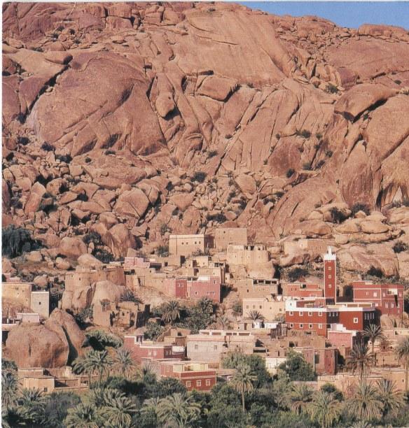 Berber Village on a Postcard