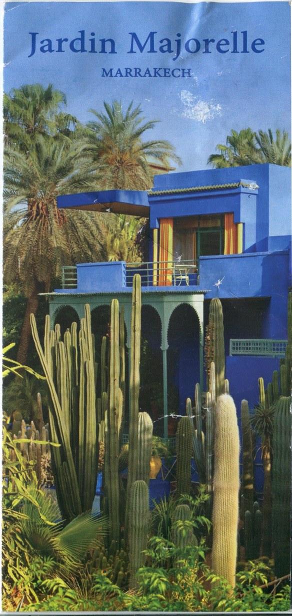 Jardin Majorelle's Brochure