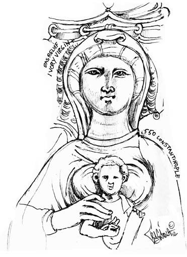Ivory Virgin ©2002 Trici Venola