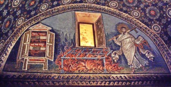 Martyrdom St Lawrence Ravenna