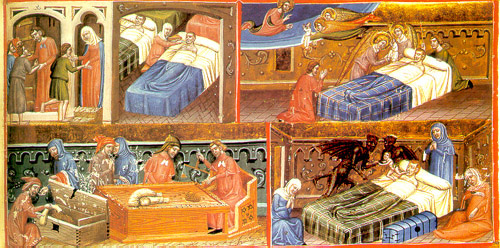 Angels and Demons in a 13th-century Medieval Hospital