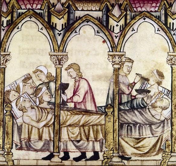 Medieval Hospital in Spain